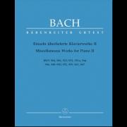 Einzeln Überlieferte Klavierwerke II