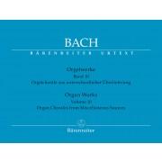 Bach - Orgelwerke 10 (Bärenreiter) - Bach, Johann Sebastian (1685-1750)