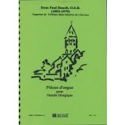 Pièces d'Orgue pour l'année liturgique - Bénoit, Dom Paul (1893-1979)