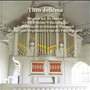 Theo Jellema bespeelt het 18e eeuwse Georg Wilhelm Wilhelmi-orgel in de St. Galluskerk te Altenesch, Duitsland - in 2008 gerestaureerd door Orgelmakerij Van der Putten - Jellema, Theo