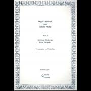 Orgel-Tabulatur von Johann Woltz, heft 3