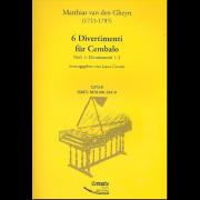 6 Divertimenti für Cembalo, heft 1