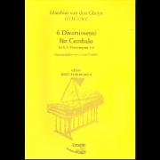 6 Divertimenti für Cembalo, heft 2