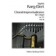Choral-Improvisationen op. 65, Heft 3