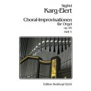 Choral-Improvisationen op. 65, Heft 5