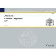 Cantiones Gregorianae pro organo 3