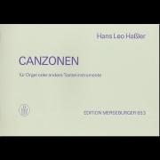 Canzonen für Orgel oder andere Tasteninstrumente