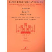 Faber Early Organ Series Volume 18 - Italy 1615-1700 - Collection