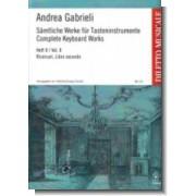 Sämtliche Werke für Tasteninstrumente II - Gabrieli, Andrea (1532-1585)