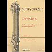 Sämtliche Werke für Tasteninstrumente VI - Gabrieli, Andrea (1532-1585)