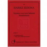 Variaties over twee bekende Kerstliederen - Iedema, Harke (*1940)