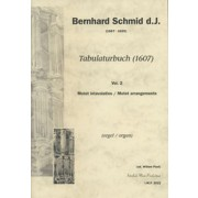 Tabulaturbuch (1607), Vol. 2: Arrangements of Motets