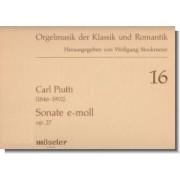 Sonate e-moll, op. 27