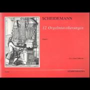 12 Orgelintavolierungen, Band 1