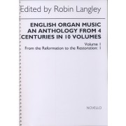 English Organ Music Vol. 1: From the Reformation to the Restoration 1
