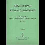 für Violoncello Concerto in a-Moll Streicher und BC BWV 593 Bach