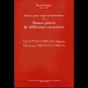 Douze pièces de différents caractères