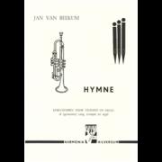 Hymne: kerkliederen voor trompet en orgel - Beekum, Jan van