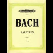Partiten Nr.4-6 - Bach, Johann Sebastian (1685-1750)