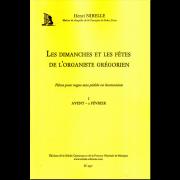 Les Dimanches et les Fêtes de l'Organiste Grégorien, Vol. 1