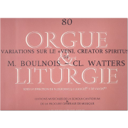 """Variations sur le """"Veni, Creator Spiritus"""" (Boulnois/Watters)"""