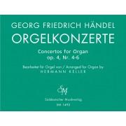 Orgelkonzerte op. 4 für Orgel allein mit Pedal - Heft 2