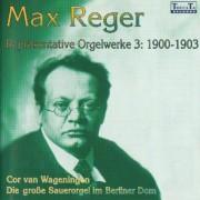 Max Reger Repräsentative Orgelwerke 3: 1900-1903 - Wageningen, Cor van