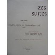 Zes suites voor klavier, opus 1