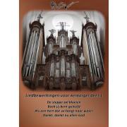 Liedbewerkingen voor kerkorgel, deel 1