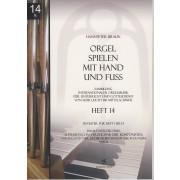 Orgel spielen mit Hand und Fuss - Heft 14: Register für Heft 1-13