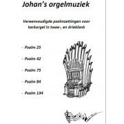 Vereenvoudigde psalmzettingen in twee- en drieklank, deel 1