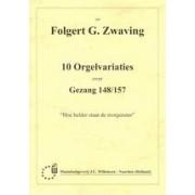 """10 Orgelvariaties over gezang 148/157 """"Hoe helder staat de morgenster"""""""