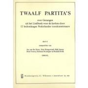 12 Partita's over Gezangen uit het LvdK door 12 hedendaagse componisten, deel 4