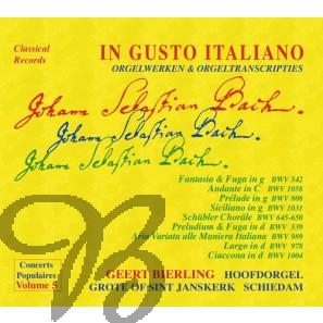 The Art of Organ Transcription, Vol. 5: In Gusto Italiano