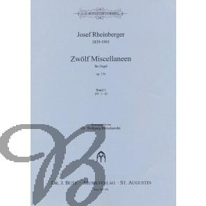 Zwölf Miscellaneen op.174 band 1