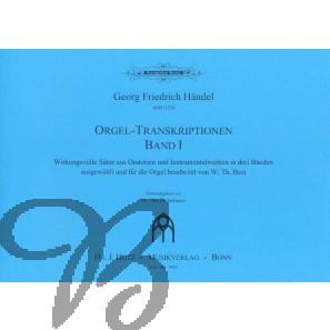 Orgeltranskriptionen, heft 1