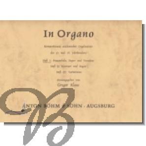 In Organo Heft 1: Praeambeln, Fugen und Versetten