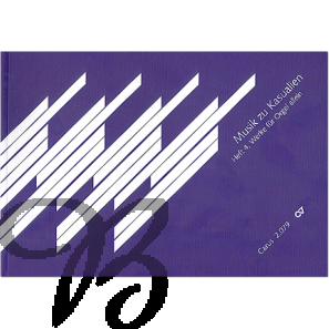 Musik zu Kasualien Heft 4: Werke für Orgel