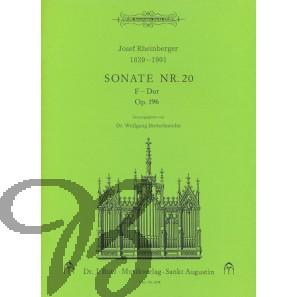 Sonate nr.20 F-Dur op.196