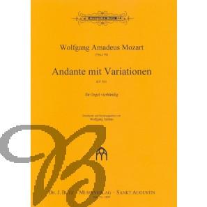 Andante mit Variationen KV 501 (vierhändig)