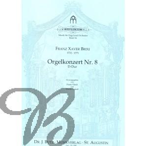 Orgelkonzert nr.8 D-Dur