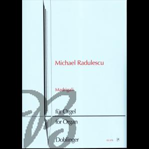 Madrigali - 9 Strophen für Orgel