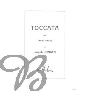 Toccata pour grand orgue, op.104
