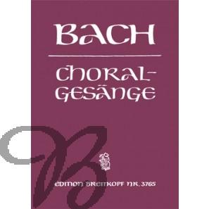 389 Choralgesänge - Bach, Johann Sebastian (1685-1750)