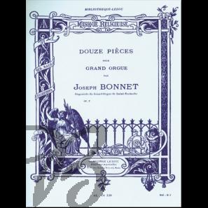 12 Pièces pour Grand Orgue op.7