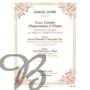 Cours Complèt d'Improvisation á l'Orgue, Vol. 2 (English)