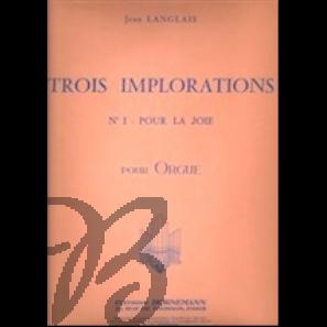 Trois Implorations (no. 1)