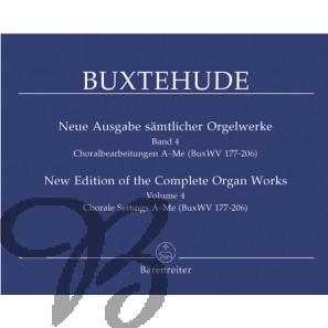 Sämtlicher Orgelwerke 4 (Neue ausgabe)