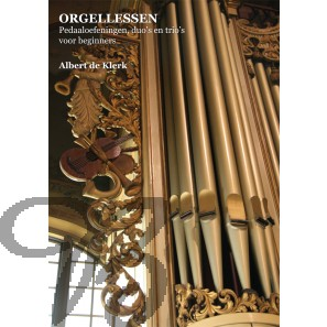 Orgellessen: Pedaaloefeningen, duo's en trio's voor beginners