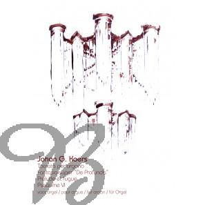 Toccata per organo / Fantasia super 'De Profundis' / Prélude et fugue / Pseaume VI voor orgel